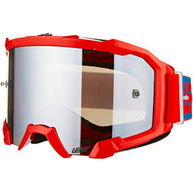 Leatt Velocity 4.5 Iriz Anti Fog Goggles red/platinum